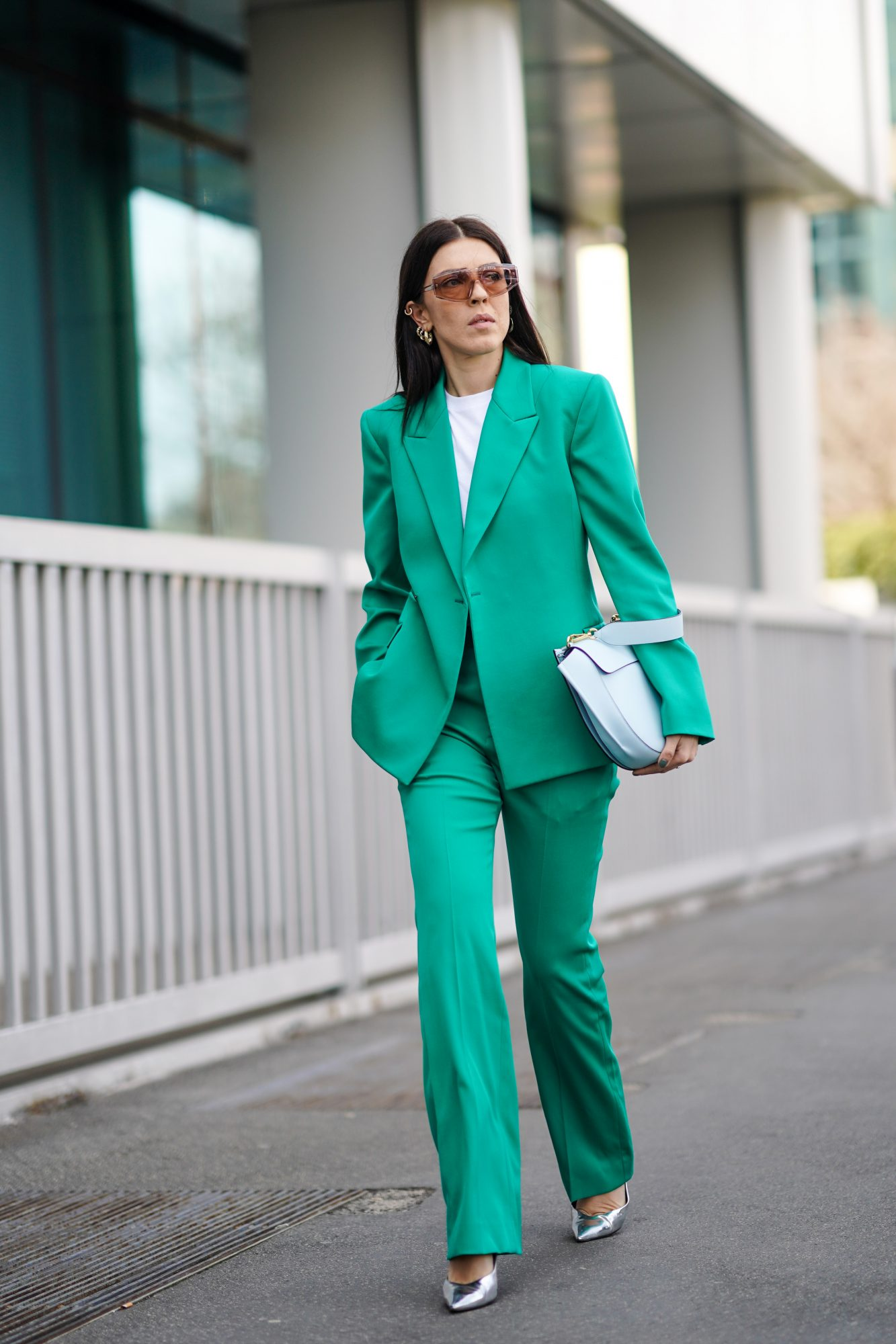 St. Patrick's Day Outfit Ideas, Green Suit