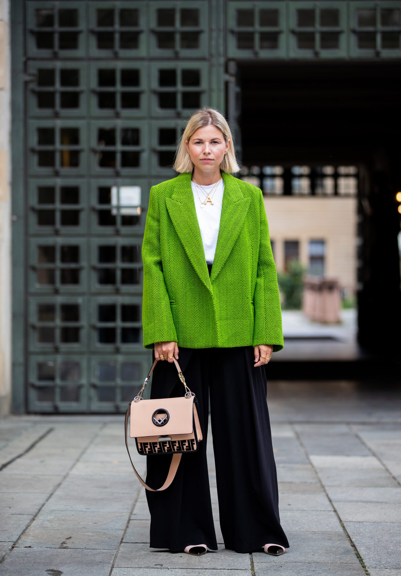 St. Patrick's Day Outfit Ideas, Green Blazer