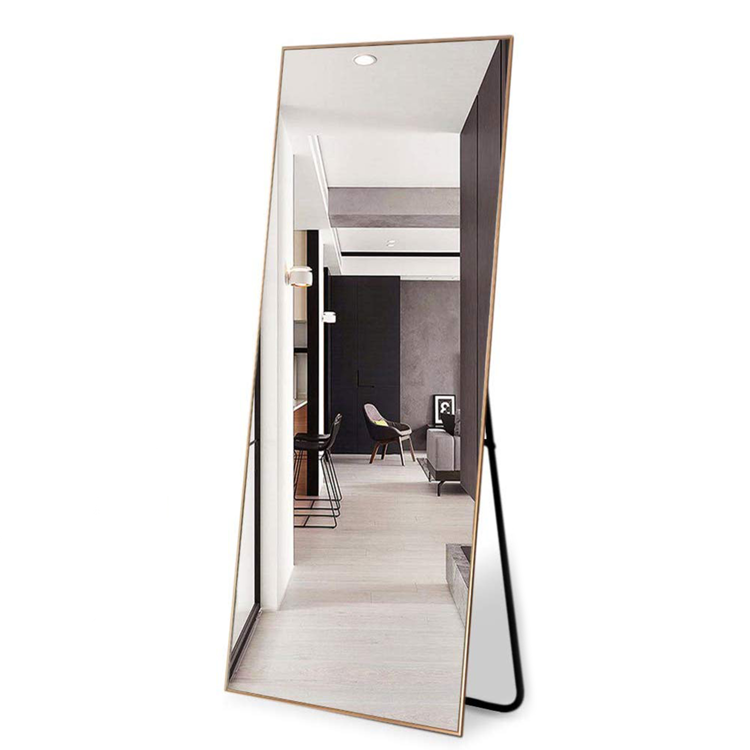 NeuType Full Length Mirror Standing Hanging or Leaning Against Wall
