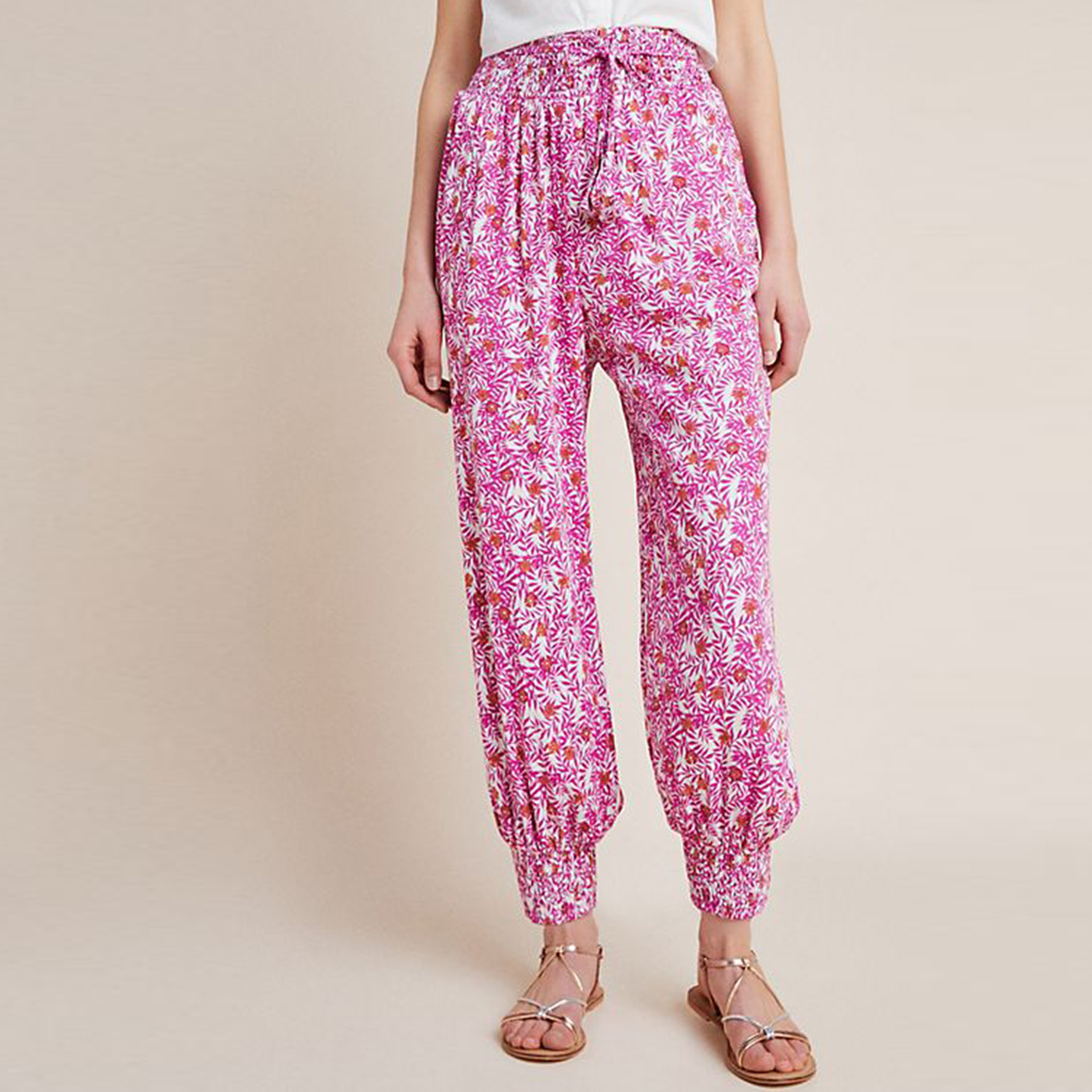 Anthropologie Abstract Joggers