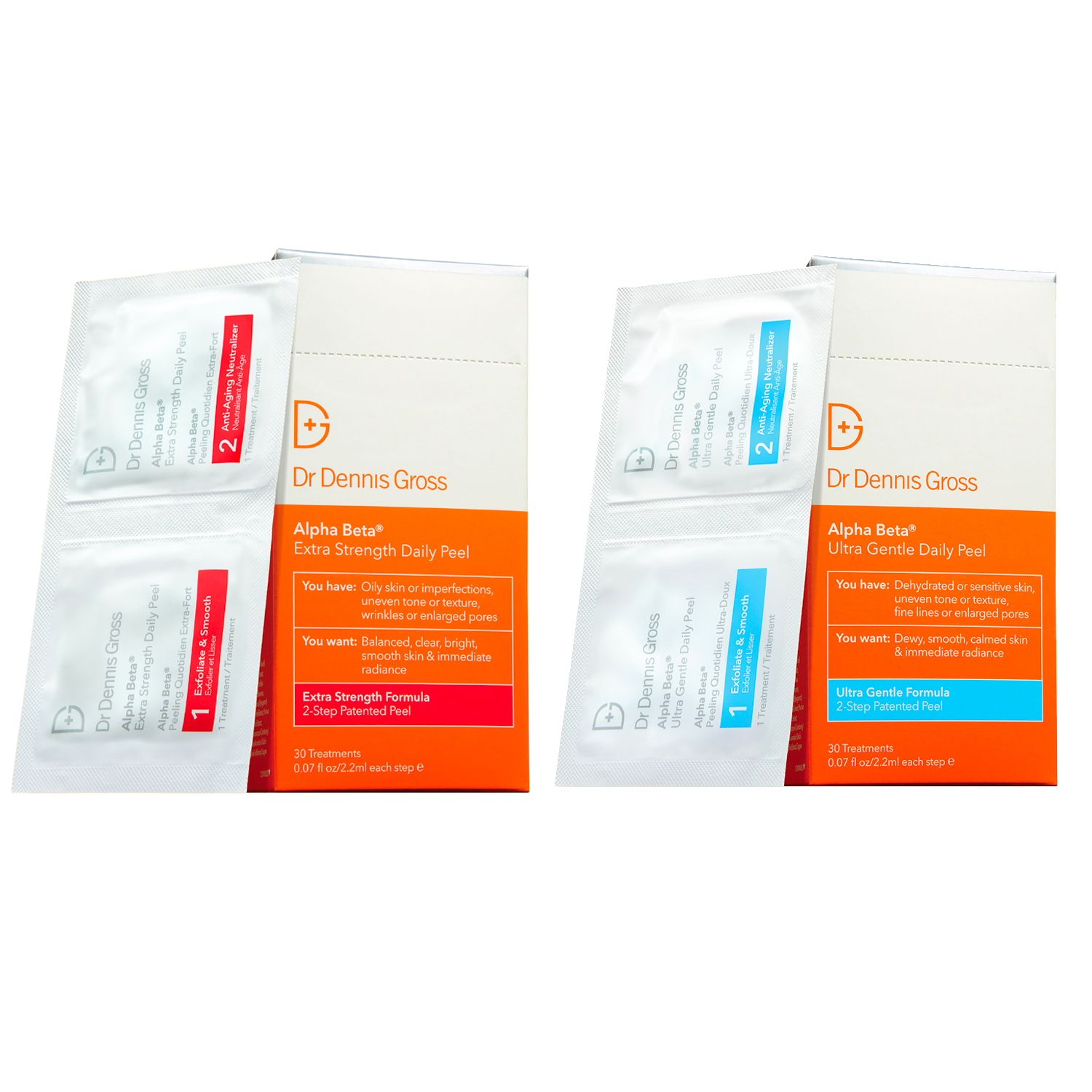Skincare Alpha Beta Peel Original Split