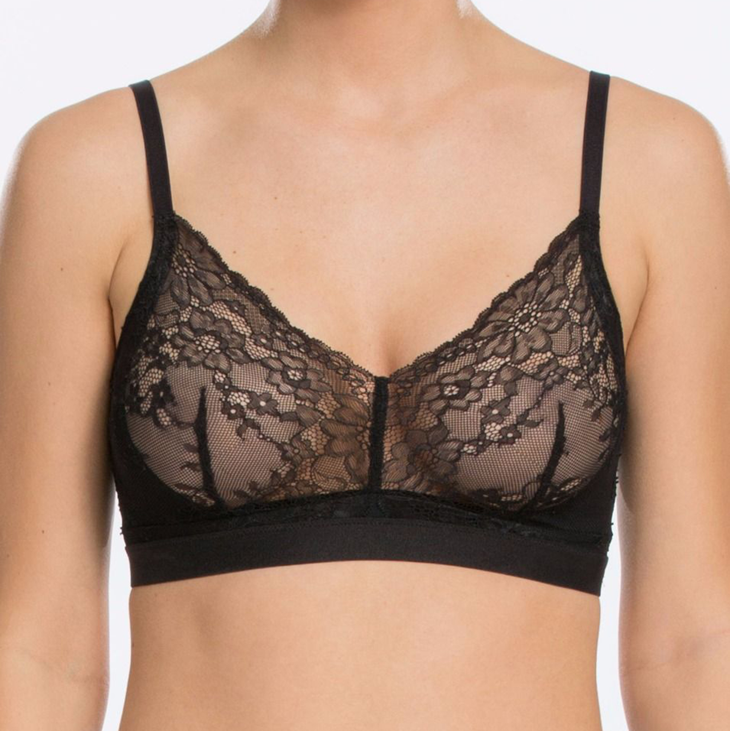 Supportive Lace Bralette Spotlight on Lace