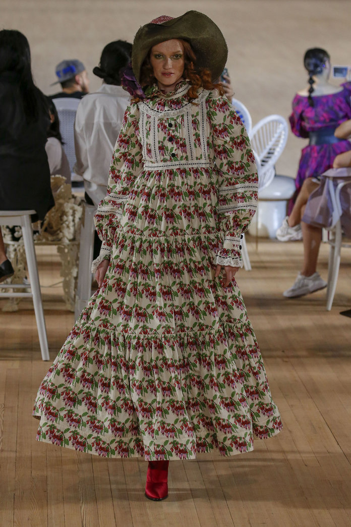 printed dress marc jacobs spring 2020