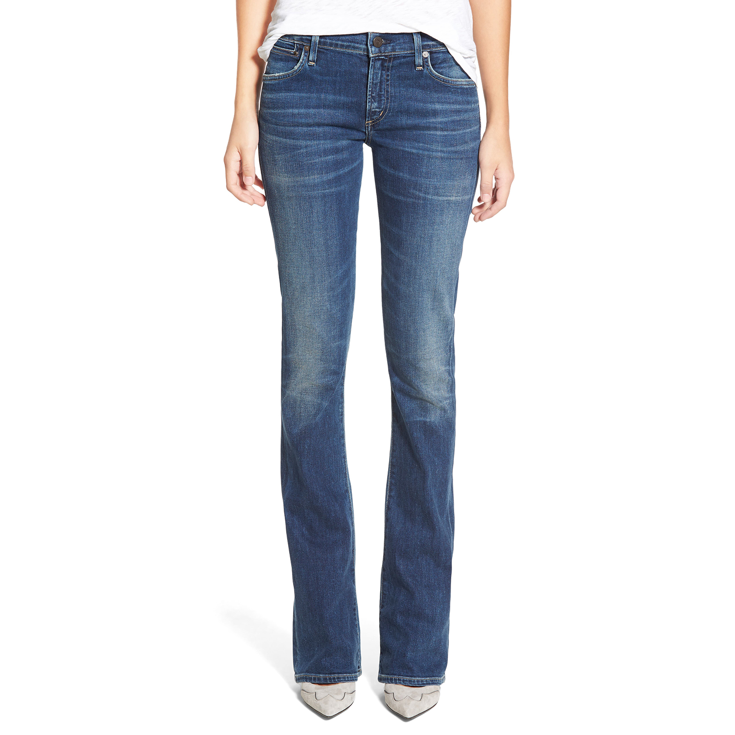 Citizens of Humanity'Emannuelle' Slim BootcutJeans