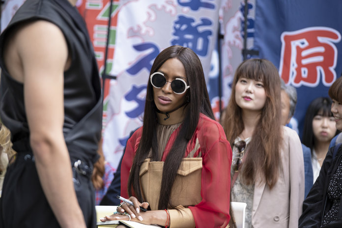 Amazon Prime Making the Cut, Naomi Campbell