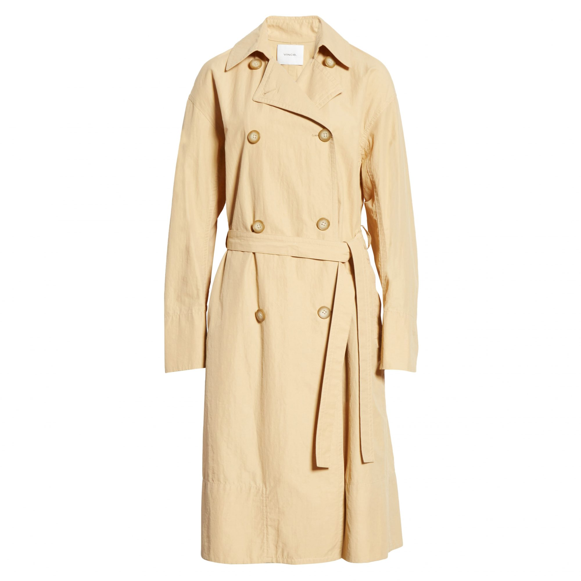 Vince Drapey Tech Trench Coat