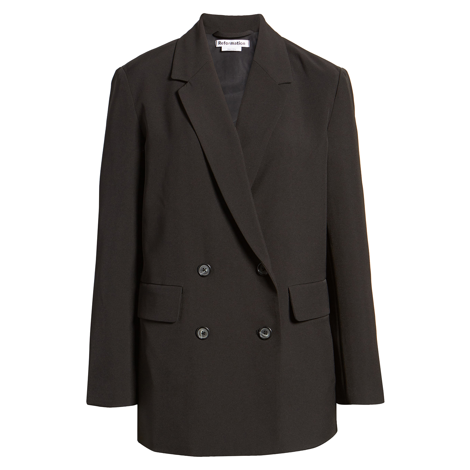 Reformation Double Breasted Blazer