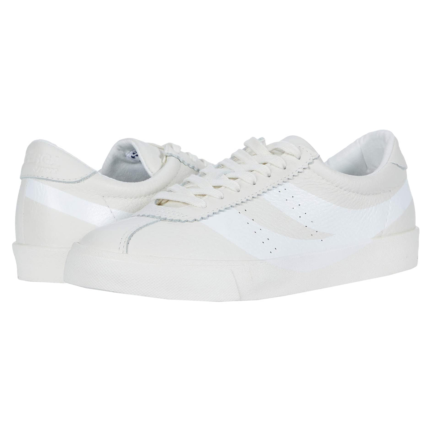 Superga 2843 Clubs Tumbled Leather U Logo