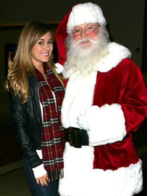 Lauren Conrad, Celebs and Santa