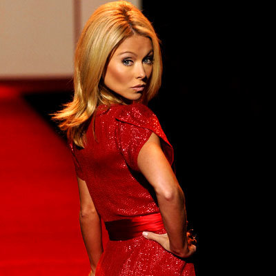 Kelly Ripa, Red Dress Collection fashion show, Best of 2007