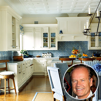Kelsey Grammer's Kitchen, Celebs' Favorite Rooms