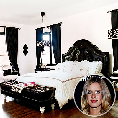 Nicky Hilton's Master Bedroom, Celebs' Favorite Room