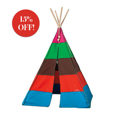 Gift Guide 2008, Gifts for Kids & Teens, Vessel Tipi