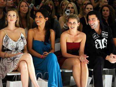 "Whitney Port, Audrina Patridge, Lauren ""Lo"" Bosworth, Brody Jenner, Lauren Conrad show, L.A. Fashion Week"