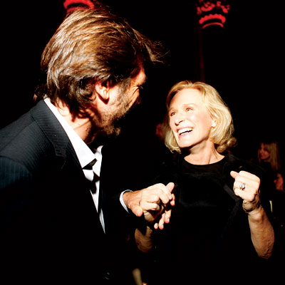 Javier Bardem, Glenn Close, The National Board of Review awards gala, New York City