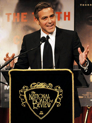 George Clooney, National Board of Review of Awards Gala, New York City