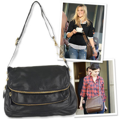 Reese Witherspoon - Katie Holmes - messenger bags