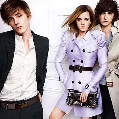 Emma Watson Stars With Brother in Burberry Ads