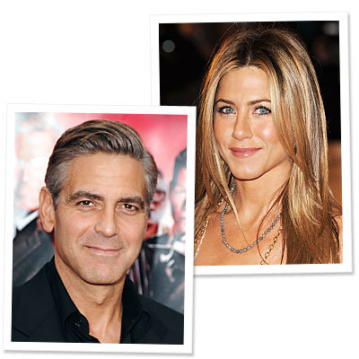 Aniston, Clooney Voted 'Best Tressed'