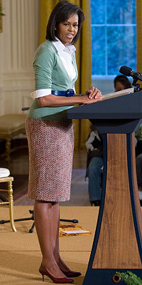 Michelle Obama, J. Crew, 100 Days of Style