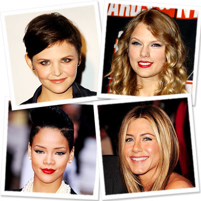 Rihanna - Ginnifer Goodwin - Taylor Swift - Jennifer Aniston