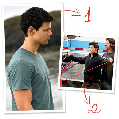 New Moon: Exclusive Behind-the-Scenes Secrets! - Jacob's Transformation