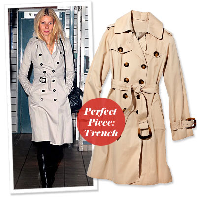 Gwyneth Paltrow - Find Your Most Flattering Coat - Small Bust