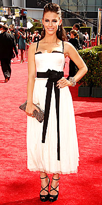 Jessica Lowndes - Dolce and Gabbana - Top Trends - Emmys 2009