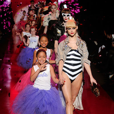 Best of 2009 Top 10 Celebrity Party Playlists - Barbie 50th Anniversary fashion show