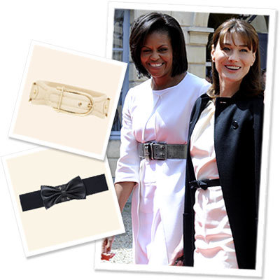 Learn How to Belt for Your Body Type from the First Ladies of Fashion