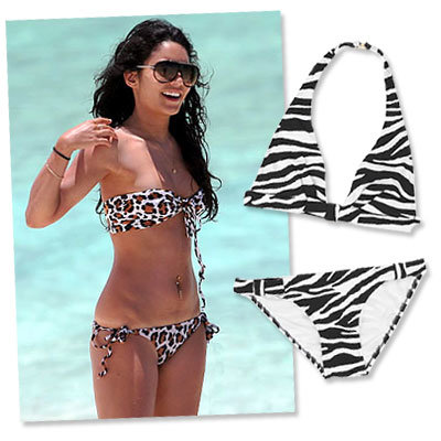 Vanessa Hudgens - Summer Trends - Swimsuits - Shopping News