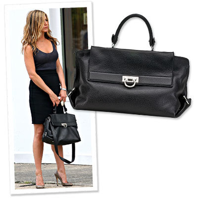 Jennifer Aniston - Gerard Butler - Ferragamo - Shopping News
