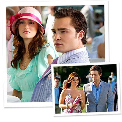 Gossip Girl - Leighton Meester - Blair - Ed Westwick - Chuck - Chace Crawford - Nate - JoAnna Garcia - What's Right Now