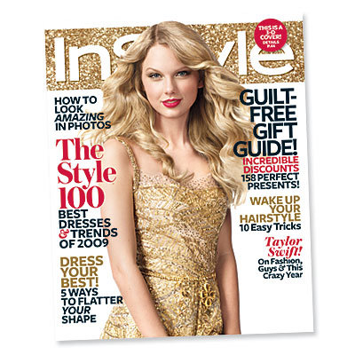 Taylor Swift - December InStyle - cover girl - 3D