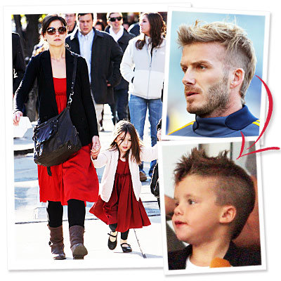 Katie Holmes and Suri Wear Holmes & Yang, Plus Daddy and Me Mohawks