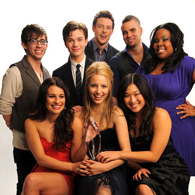 The Cast of Glee - 2010 People's Choice Awards