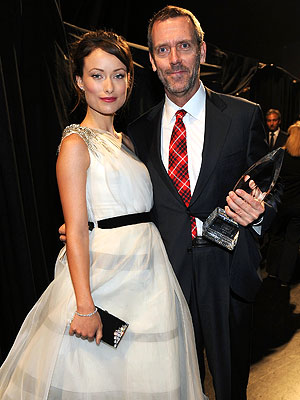 Olivia Wilde and Hugh Laurie