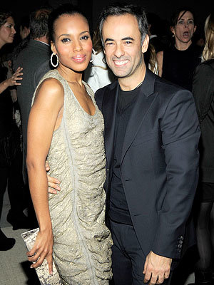 Fall 2010 Fashion Week Parties - Kerry Washington and Francisco Costa - Calvin Klein After-Party