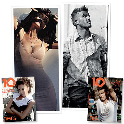 Beckhams Book His and Hers Covers