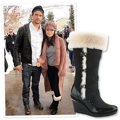 Fergie's Chic Cole Haan Boots