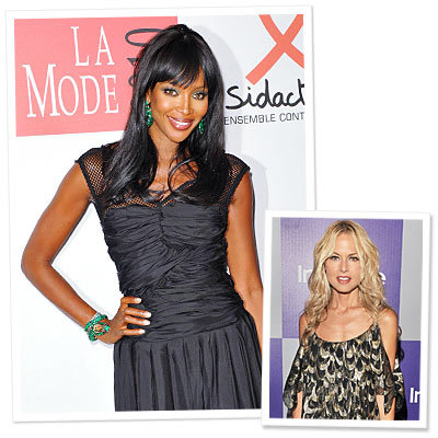Naomi Calls on Fashion Friends for Charity Show