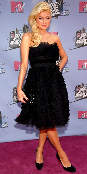 Paris Hilton - 30 Most Memorable Looks - Anna Sui - Birthday