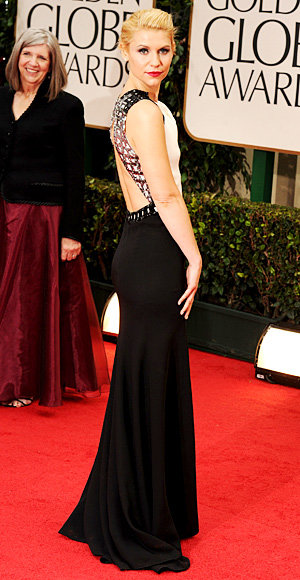 Cutout Backs-Claire Danes