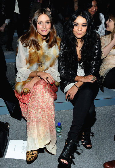 Olivia Palermo and Vanessa Hudgens