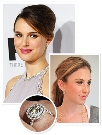Natalie Portman - Benjamin Millepied - Jamie Wolf - The Hottest Celebrity Engagement Rings