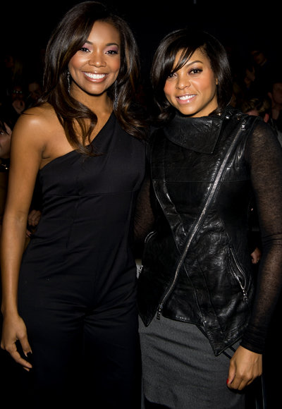 Gabrielle Union and Taraji P. Henson