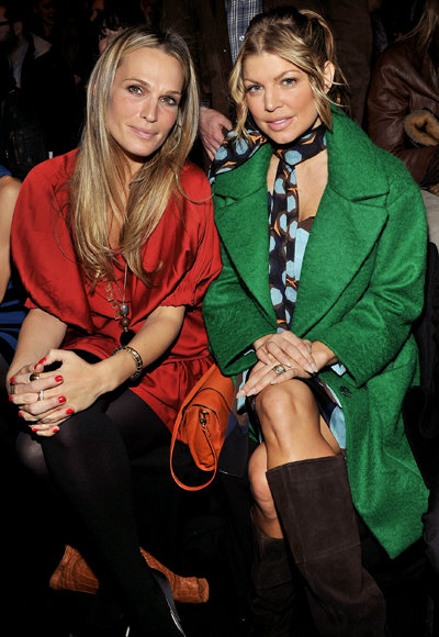 Molly Sims and Fergie