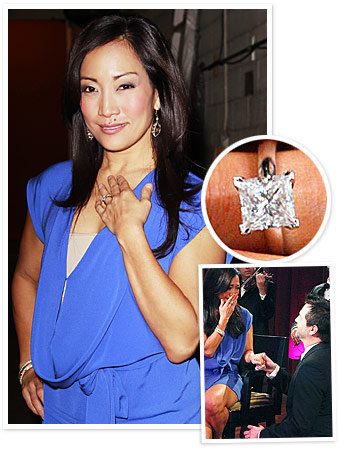 Carrie Ann Inaba - Jesse Sloan - Rafinity - The Hottest Celebrity Engagement Rings