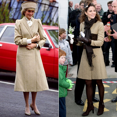Kate Middleton - Princess Diana - Tan - Suit
