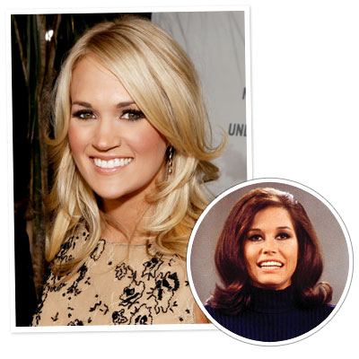 Carrie Underwood - Mary Tyler Moore - The Flip - Iconic Hairstyles
